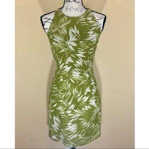 | Jason Wu | green palm print sleeveless dress 4